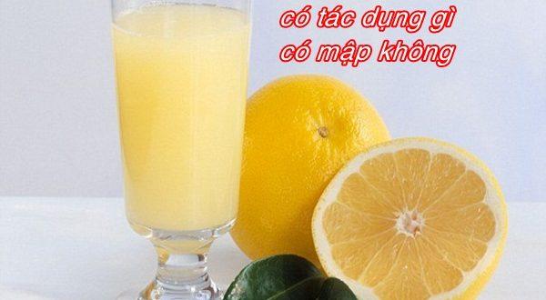 uong-nuoc-ep-buoi-co-tac-dung-gi
